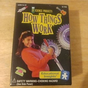 How things work 21 science projects